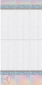 Стеновая панель CronaPlast UNIQUE фигурная (имола) Перламутр (фон)