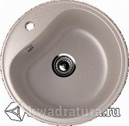Кухонная мойка ULGRAN U-100 песочный №302 49 см