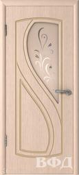 Межкомнатная дверь ВФД 10ДО5 Грация Беленый дуб