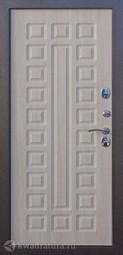 Дверь входная металлическая Сибирь S-2 медь/лиственница мокко