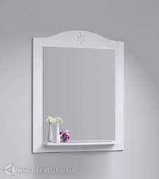 Зеркало Aqwella Франческа с полкой 75