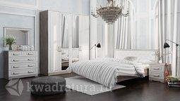 Двуспальная кровать «Прованс» с мягким изголовьем СМ-223.01.005 буз матраса ТР