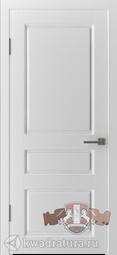 Межкомнатная дверь ВФД Честер Белый, глухая