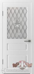 Межкомнатная дверь ВФД 15ДО0 Честер Белый