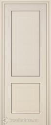 Межкомнатная дверь ProfilDoors 27X Эш вайт Белый ясень глухое