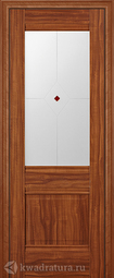 Межкомнатная дверь ProfilDoors 2X Орех Амари ст матовое