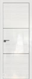 Дверь ProfilDoors 2STK Pine White Glossy матовая хромка под скрытую систему Invisible