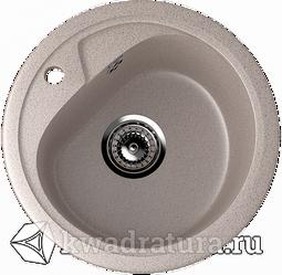 Кухонная мойка ULGRAN U-500 песочный №302 44 см