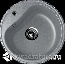 Кухонная мойка ULGRAN U-100 тёмно-серый №309 49 см