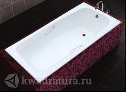 Чугунная ванна с ручками MARCO POLO 170*80 с ножками
