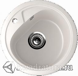 Кухонная мойка ULGRAN U-500 белый №331 44 см