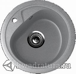 Кухонная мойка ULGRAN U-500 графит №342 44 см