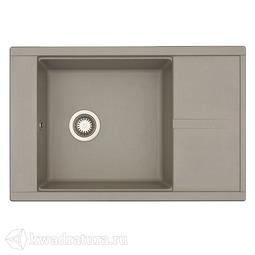 Кухонная мойка Aquaton Делия 78 (серый шёлк) 1A715132DE250