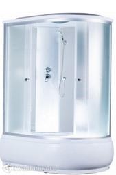 Душевая кабина AQUAPULSE 4106D L/R fabric white 120*80