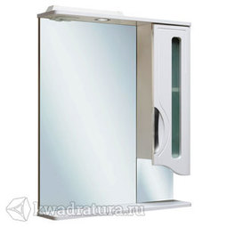 Шкаф зеркальный навесной Руно Толедо 65 правый с подсветкой