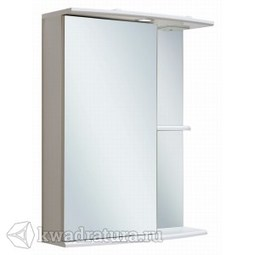 Шкаф зеркальный навесной Руно Николь 55 левый белый