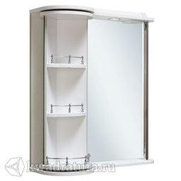 Шкаф зеркальный навесной Руно Секрет 65 белый