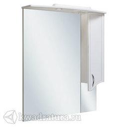 Шкаф зеркальный навесной Руно Севилья 85 правый белый