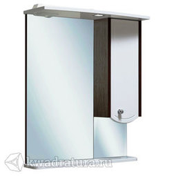 Шкаф зеркальный навесной Руно Аликанте 60 правый