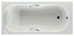 Чугунная ванна Roca Haiti 150*80 с ручками