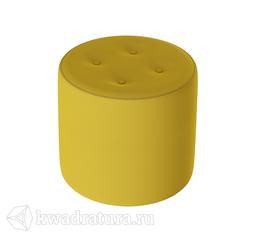 Пуф Тип 8 (Велюр Желтый) ТР