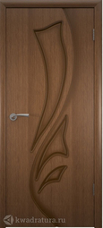 Межкомнатная дверь ВФД 5ДГ3 Лилия Орех