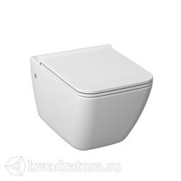 Унитаз подвесной Jika Pure с сиденьем дюропласт/быстросъем, стальн. петл