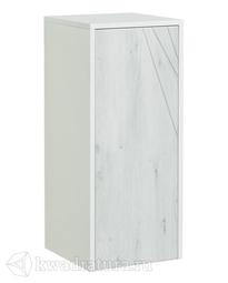 Шкафчик Aquaton Сакура 33 белый/ольха наварра с бельевой корзиной