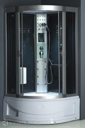 Душевая кабина ODA 8802 тонированное стекло 100*100 см
