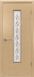 Межкомнатная дверь ВФД 8ДО1 Рондо Светлый дуб