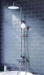 Смеситель для ванны с верхним душем Iddis Cloud CLOSB00i06
