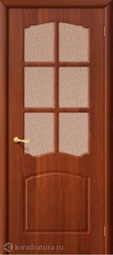 Межкомнатная дверь Дера Азалия ДО итальянский орех