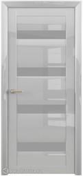 Межкомнатная дверь Фрегат (ALBERO) Барселона Глянец белый ст матовое
