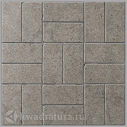 Декор для керамогранита Kerama Marazzi Фьорд серый BR006 30*30 см