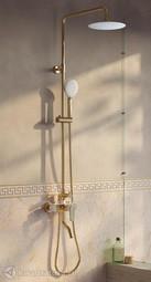 Смеситель для ванны с верхним душем Iddis Cloud CLOWG00i06
