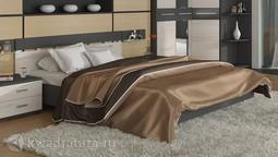 Двуспальная кровать «Сити» (Каттхилт, Тексит) без матраса ТР
