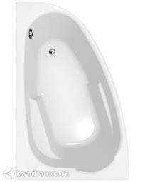 Акриловая ванна Cersanit Joanna 140*90см левая/правая