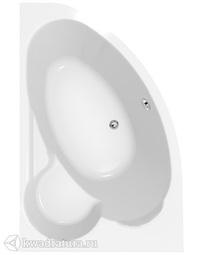 Акриловая ванна Cersanit Kaliope 153*100см левая/правая