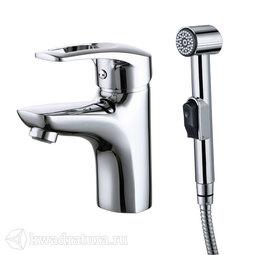 Смеситель для умывальника с гигиеническим душем Iddis Carlow Plus CRPSB00i08
