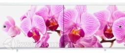 Экран под ванну Метакам Ультралегкий-Арт дикая орхидея 150, 170 см