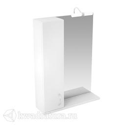 Зеркало Triton Джуно 80 см 1 светильник шкафчик СЛЕВА/СПРАВА