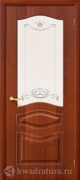 Межкомнатная дверь Дера Леона ДО итальянский орех