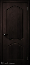 Дверь межкомнатная Дубрава Илона ПГ венге