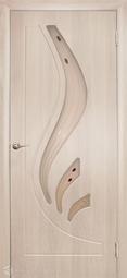 Дверь межкомнатная Дубрава Лилия ПО беленый дуб