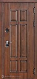 Дверь входная металлическая Феррони Isoterma Сосна белая Терморазрыв