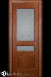 """Межкомнатная дверь Луидор Джесика Лайт дуб с/о белое гравировка """"Готика"""""""
