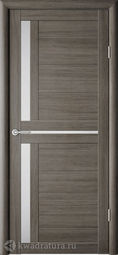 Межкомнатная дверь Фрегат (ALBERO) Кельн Серый кедр