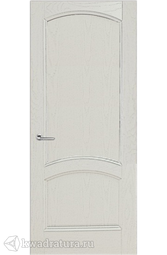 Межкомнатная дверь Луидор Криста Лайт ясень айсберг