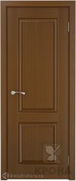 Межкомнатная дверь Крона Порто - 1 Орех ДГ