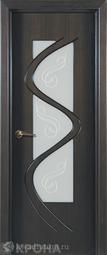 Межкомнатная дверь Крона Вега Венге СТ